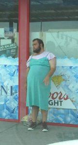 dude in dress